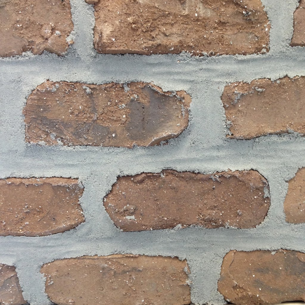 how to make brick look like stone