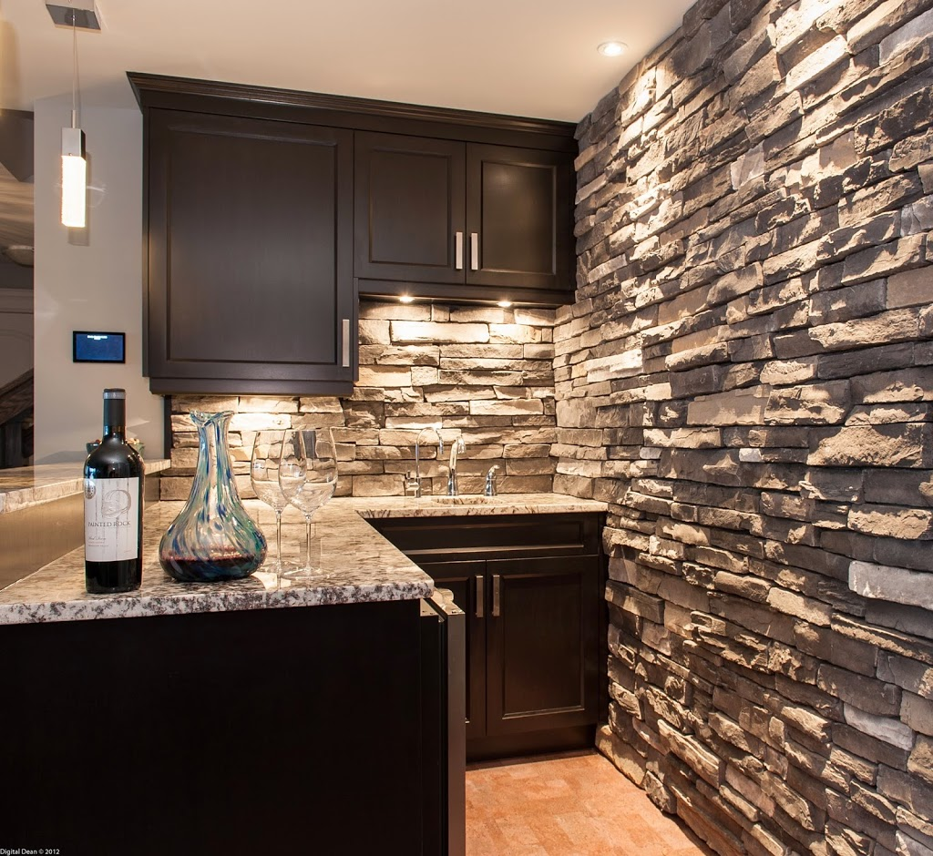 Interior Brick Walls Kitchen