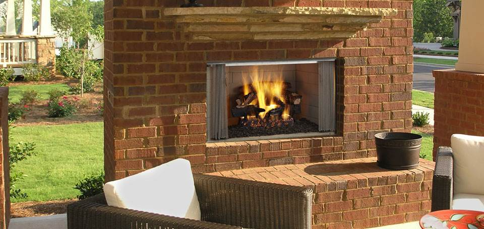 Quadra-Fire Villawood Wood Fireplace
