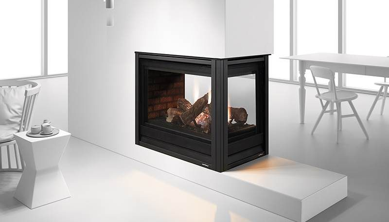 Heat & Glo Pier-36TR See Through Gas Fireplace