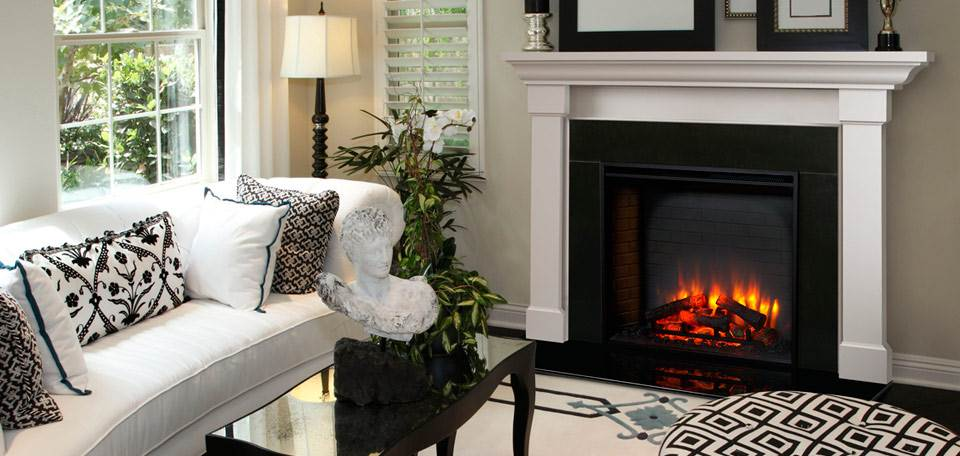 Quadra-Fire SimpliFire Built-In Electric Fireplace Series